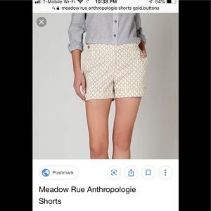 Meadow Rue shorts